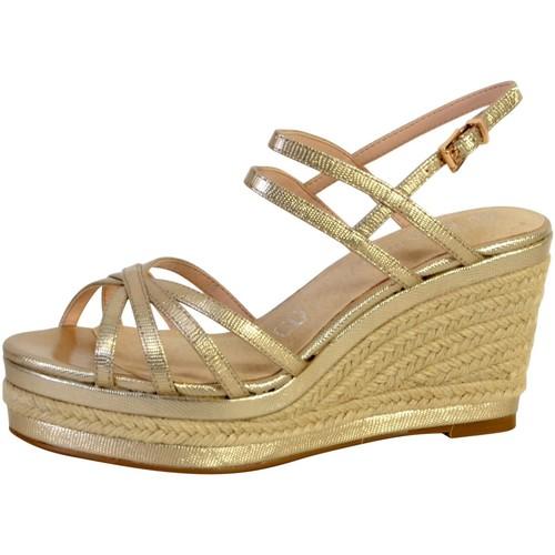 Enza Nucci Sandale Compensée Noir - Livraison Gratuite avec  - Chaussures Sandale Femme
