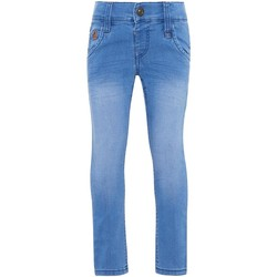 Vêtements Garçon Jeans Name It Kids NMMSILAS DNMCOMO 1014 Bleu