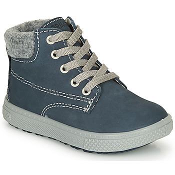 Chaussures Garçon Boots Primigi BARTH 19 Bleu