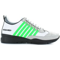 Chaussures Homme Baskets basses Dsquared 251 blanc