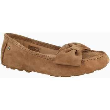 Chaussures Femme Ballerines / babies UGG SEABROOK Noisette