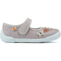 Chaussures Enfant Ballerines / babies Vulladi LINO FLORES K 5781 LETINES rose