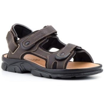 Chaussures Homme Sandales sport Morxiva Shoes  Marron