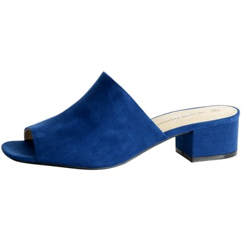 Chaussures Femme Mules The Divine Factory Mule Bleu