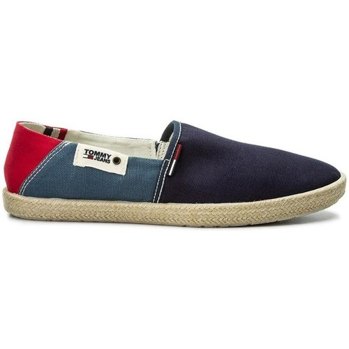 Tommy Hilfiger Summer Slip ON Bleu - Chaussures Slips on Homme WNR775MN -  destrainspourtous.fr 40fa17a29ff6