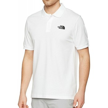 Vêtements Homme Polos manches courtes The North Face Homme Polo Piquet Blanc blanc