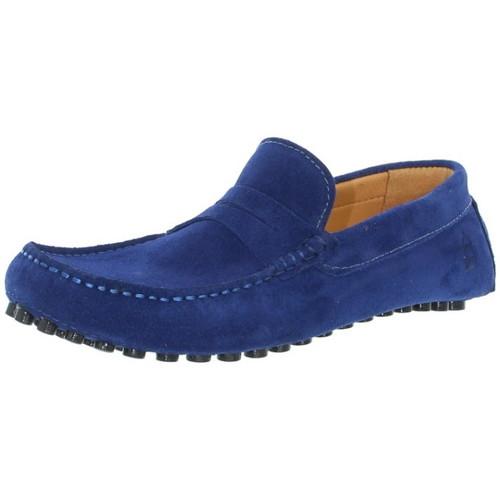 Les Mocassins Tropéziens Mocassins les tropéziens ref_lmc43296 Bleu nuit bleu - Chaussures Mocassins