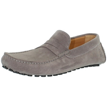 Chaussures Les Mocassins Tropéziens Mocassins les tropéziens ref_lmc43296 Gris Clair