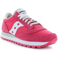 Chaussures Femme Baskets basses Saucony Jazz rouge