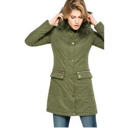 Vêtements Femme Parkas Liu Jo F67009 Vert