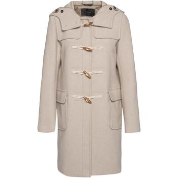 Vêtements Femme Manteaux Beaumont STYLE 69912 Crème