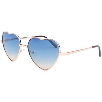 Lunettes de soleil eye wear lunettes de soleil coeur bleu lovely