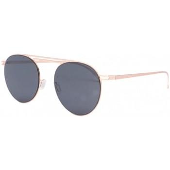 Montres & Bijoux Lunettes de soleil Eye Wear Lunettes de soleil dorées monture aluminium Lorga Jaune
