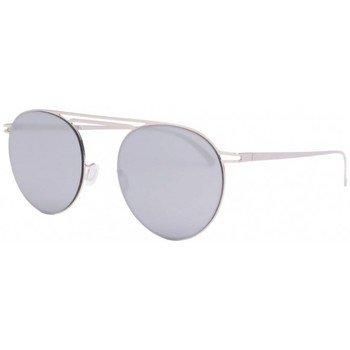 Montres & Bijoux Lunettes de soleil Eye Wear Lunettes de soleil miroir argent aluminium Lorga Gris