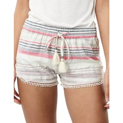 Vêtements Femme Shorts / Bermudas O'neill Short  Lw Jacquard Lace Detail - Blue Aop W/ Pink Or Purple Bleu