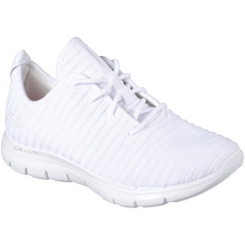 Chaussures Femme Fitness / Training Skechers FLEX APPEAL 2.0-ESTATES Blanc