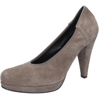 Chaussures Femme Escarpins Calpierre escarpins beige daim AJ405 beige