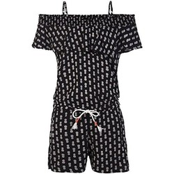 Vêtements Femme Combinaisons / Salopettes Protest MONO  CISSY JR PLAYSUIT 2911081 NEGRO