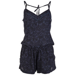 Vêtements Femme Combinaisons / Salopettes Protest MONO  TRUE BLACKA BIRGIT PLAYSUIT 2622681 AZUL