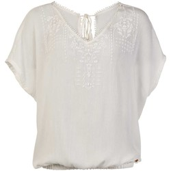Vêtements Femme Tops / Blouses Protest TOP  SEASHELL MUMBY BLOUSE 1615181 BLANCO