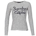 Superdry BLOSSOM RAGLAN APPLIQUE TOP