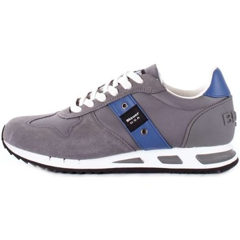 Chaussures Homme Baskets basses Blauer 8SMEMPHIS05/NYL BASKETS Homme Gris
