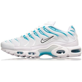 Chaussures Homme Baskets basses Nike Air Max Plus Blanc