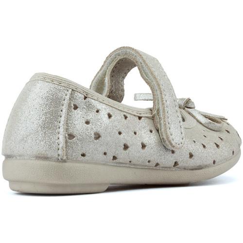 Chaussures Enfant Letinas BallerinesBabies Vulladi Lacitos Beige OXPkuiZ