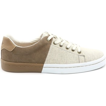 Chaussures Homme Baskets basses Palladium BASKET FLAG MIX BEIGE
