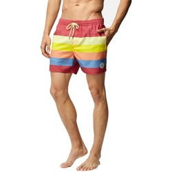 Vêtements Homme Maillots / Shorts de bain O'neill Boardshort  Pm Mid Vert Horizon - Red Aop Rouge