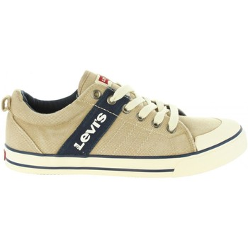 Chaussures Enfant Baskets mode Levi's VALB0006T ALABAMA Beige