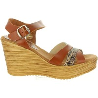 Chaussures Femme Sandales et Nu-pieds Cumbia 31001 Marr?n