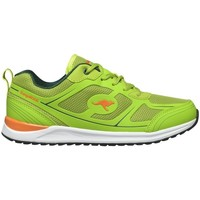 Chaussures Femme Baskets basses Kangaroos Ovid Lime Orange Vert