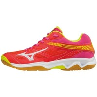 Chaussures Femme Baskets basses Mizuno Thunder Rouge-Rose