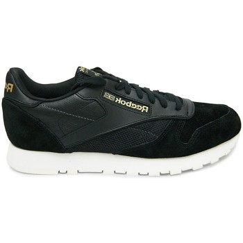 Chaussures Homme Baskets basses Reebok Sport CL Leather Noir