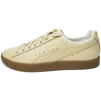 Chaussures Homme Baskets basses Puma Clyde Veg Tan Marron