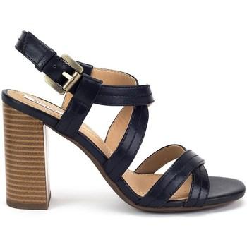 Chaussures Femme Sandales et Nu-pieds Geox Audalies High Sand Noir