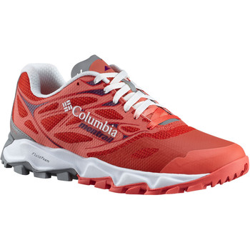 Chaussures Femme Running / trail Columbia TRANS ALPS F.K.T II Rouge