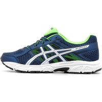 Chaussures Enfant Running / trail Asics Gel-Contend 4 GS Dark Blue / White / Geen Gecko