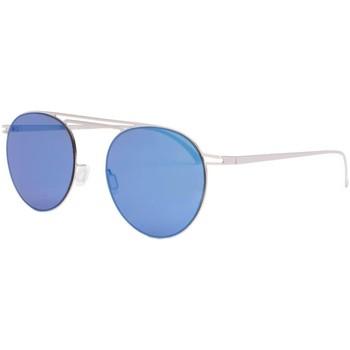 Montres & Bijoux Lunettes de soleil Eye Wear Lunettes de soleil miroir bleu aluminium Lorga Bleu