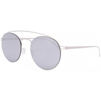 Montres & Bijoux Lunettes de soleil Eye Wear Lunettes de soleil miroir argent aluminium Catel Gris