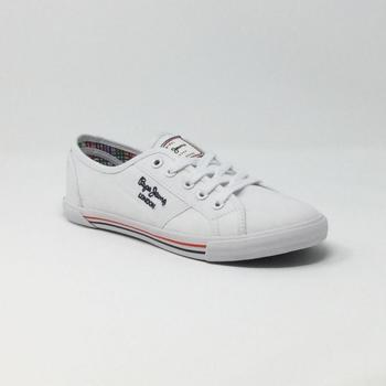 Chaussures Homme Baskets basses Pepe jeans ABERMAN 2.1  BLANC blanc