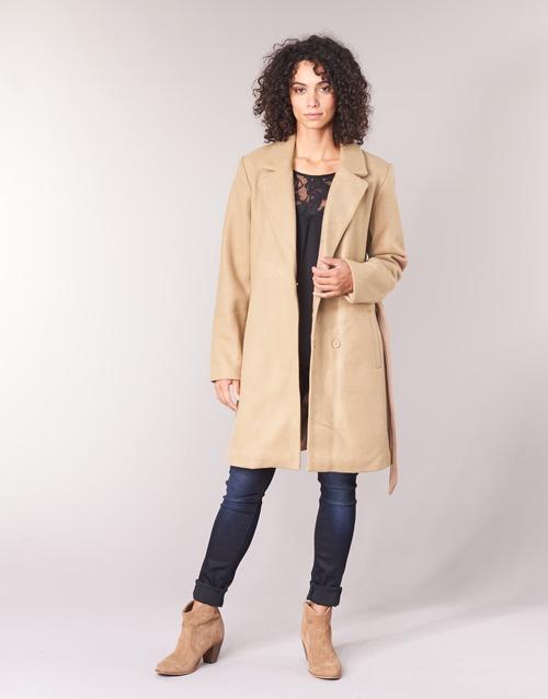 Vêtements Femme Manteaux Vila VILUS Camel