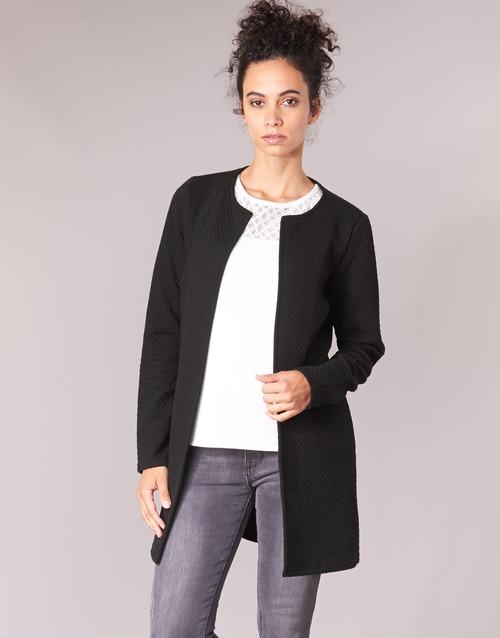 Vêtements Femme Vestes / Blazers Vila VINAJA LONG Noir