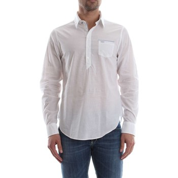 Chemise Guess M82H22 W8C60 CHEMISE Homme WHITE