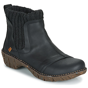 Chaussures Femme Boots El Naturalista YGGDRASIL BLACK