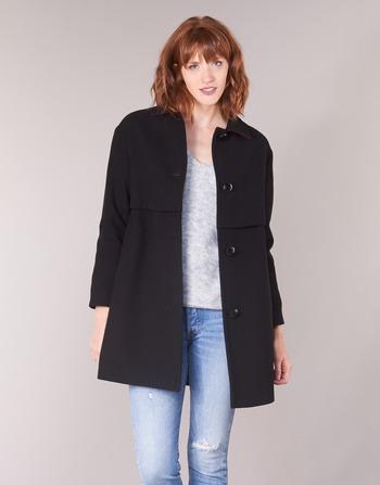 Fareda Manteaux Noir Femme Sisley Vêtements IY9WHEDe2