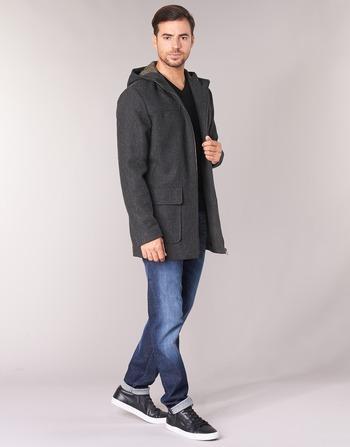 Homme Gris Sisley Fedvun Vêtements Manteaux tCsdhQr