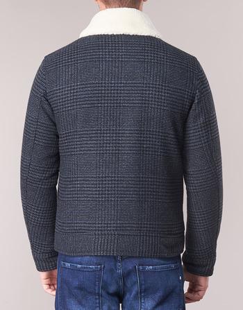 Vêtements Sisley Fadvin Gris Homme Manteaux DI9YWEH2