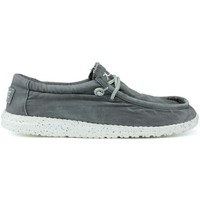 Chaussures Homme Chaussures bateau Dude CHAUSSURES WASHY LAVÉES  M 1152 GREY